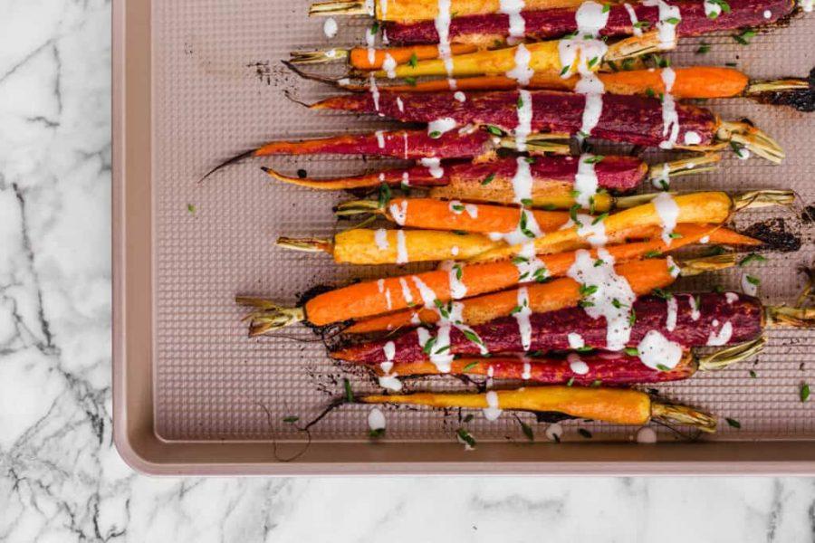 Tandoori carrots