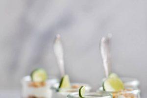 Key lime cheesecake parfaits