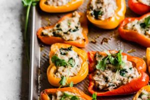 Asian Stuffed Peppers