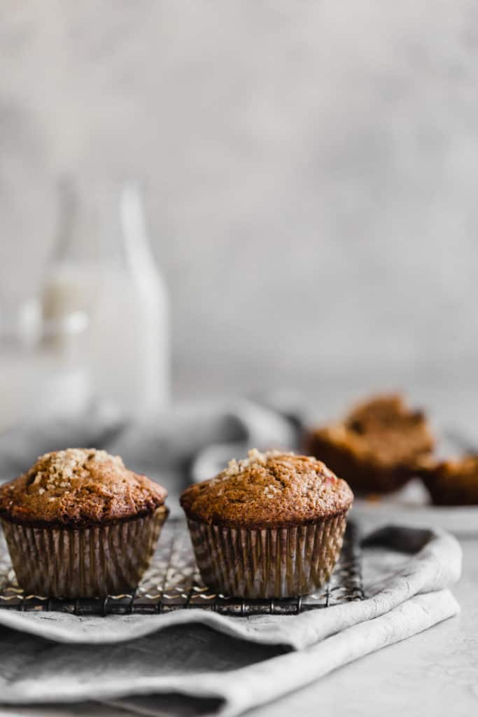whole wheat morning glory muffins!