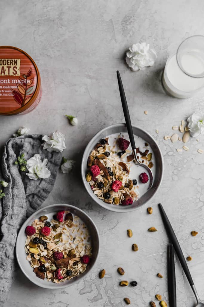 homemade muesli is the adult cereal of your dreams!