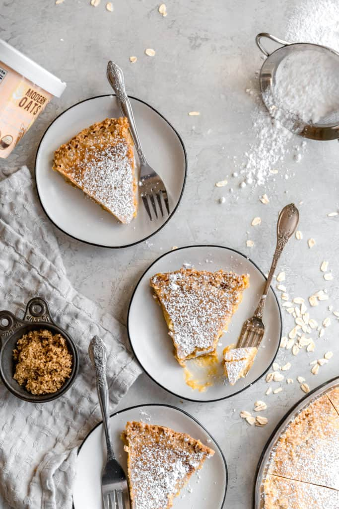 milk bar crack pie with milk powder and corn powder