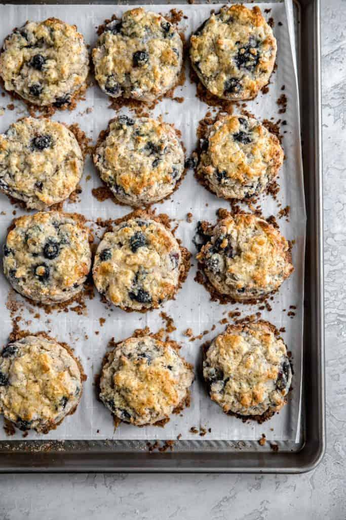 best ever blueberry scones