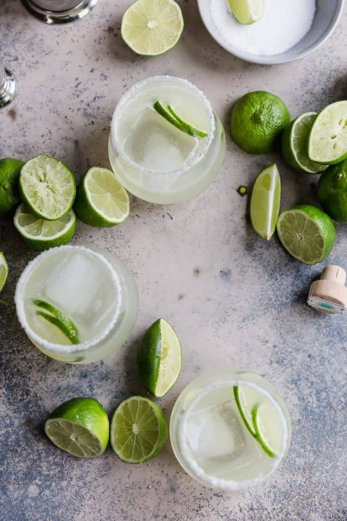 perfect classic margaritas!