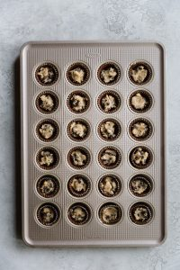homemade chocolate chip cookie dough cups