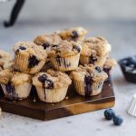 best ever blueberry mini muffins!