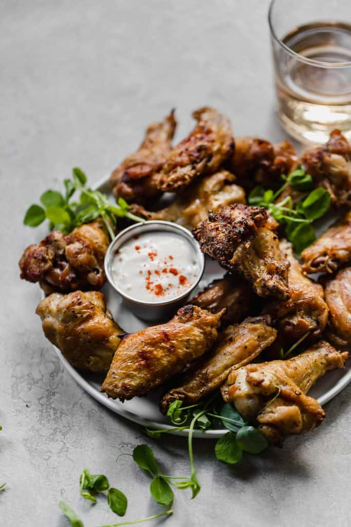 grilled smoked chicken wings