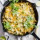 Leftover Turkey Enchilada Skillet