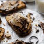 grilled s'mores crostini