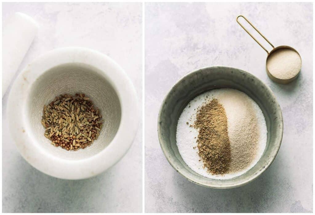 salt and sugar mixture for gravlax