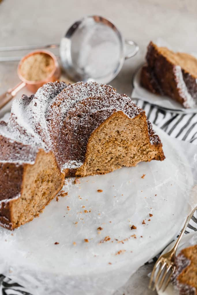 rosh hashanah apple cinnamon bundt cake