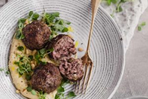 (Not Quite Kofta) Lamb Meatballs