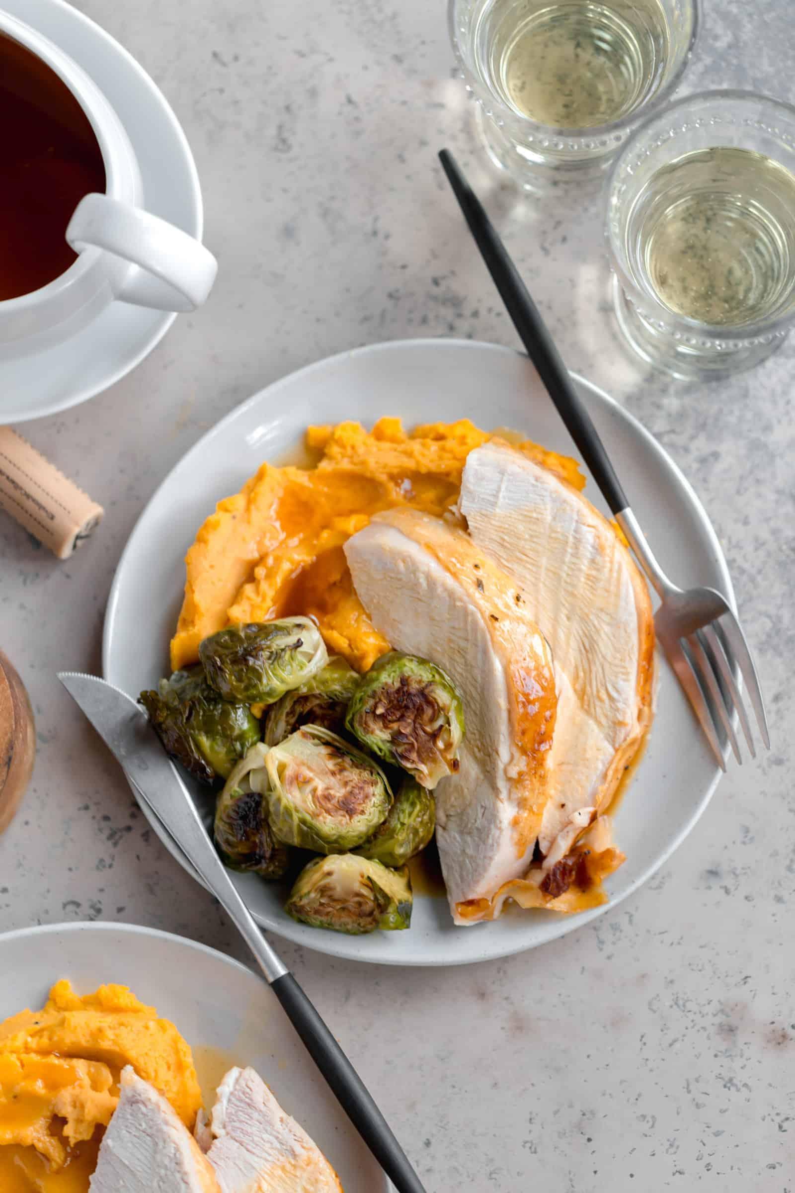 thanksgiving roasted turkey breast