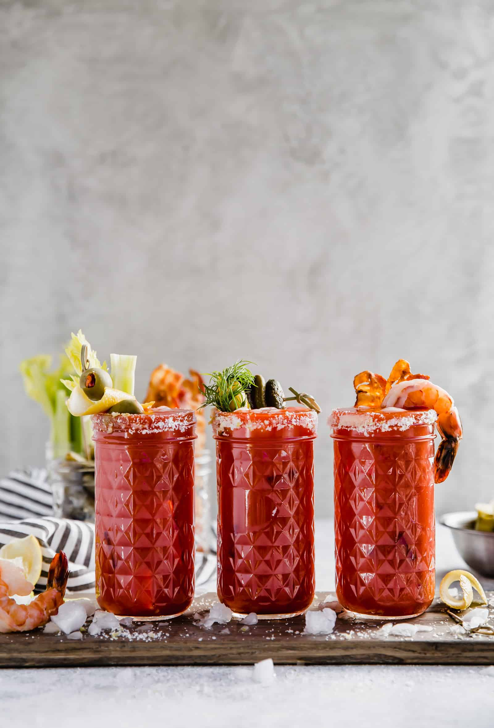 how to create a bloody mary bar