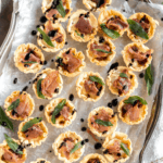 baked brie phyllo cup appetizer