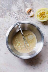 lemon tahini sauce