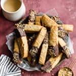 homemade pecan biscotti