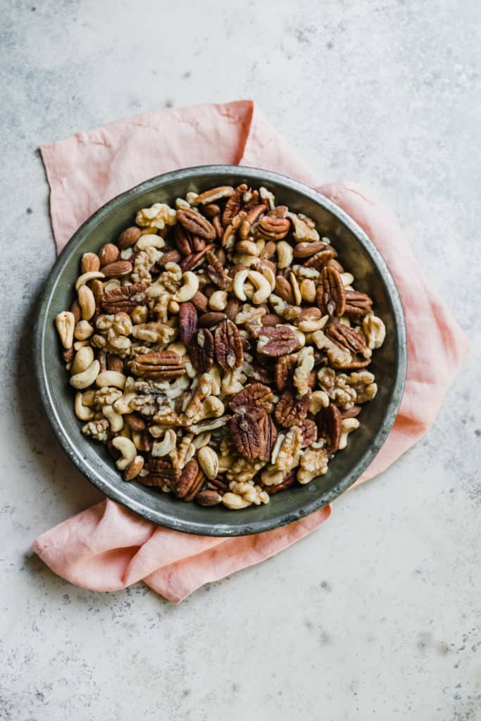 spiced nuts with cayene
