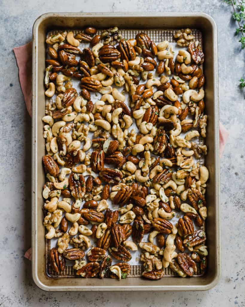 homemade spiced nuts