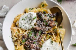 Braised Beef Pappardelle