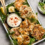 pan seared cod cakes with fresh herbs