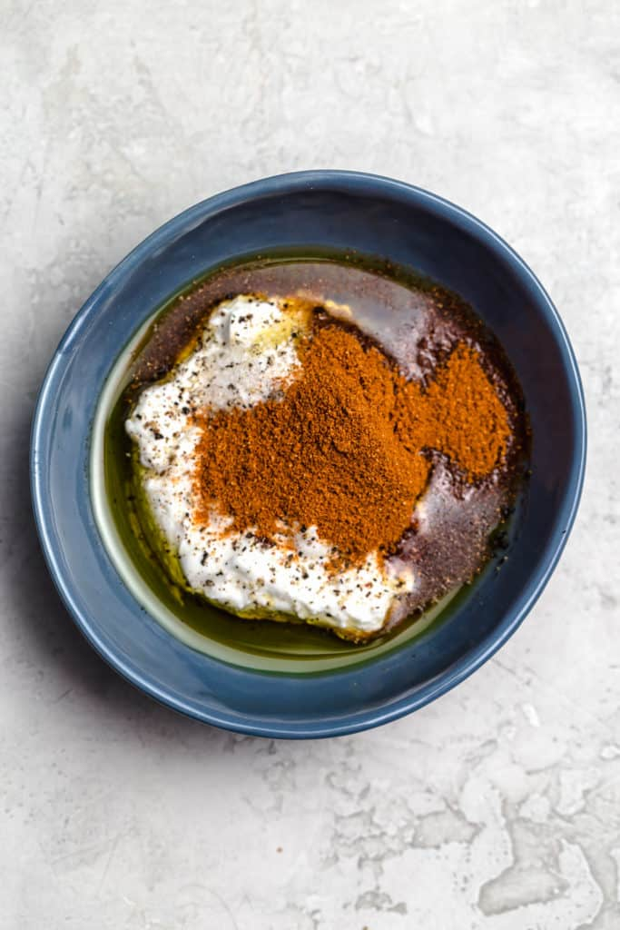 yogurt and tandoori spice blend