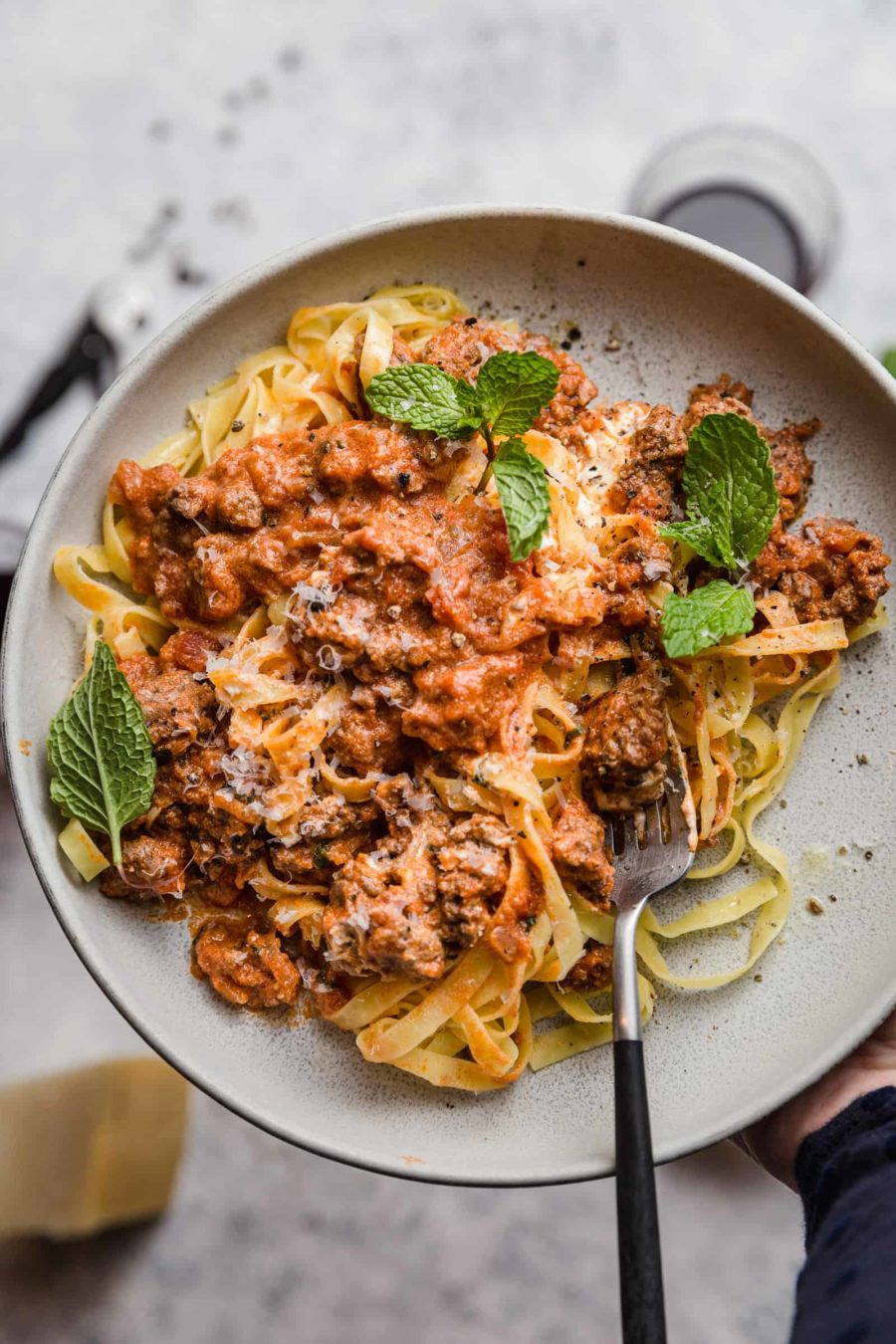 Lamb and Mint Ragu