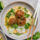 Thai Turkey Meatballs with Coconut Curry