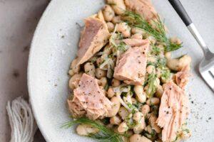 White Bean Salad with Tuna