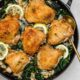 Skillet Chicken with White Beans and Kale