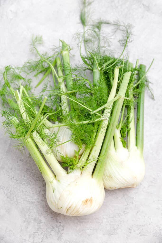 3 whole fennel bulbs