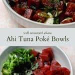 Ahi tuna poké pin