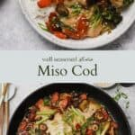 Miso Cod pinterest graphic