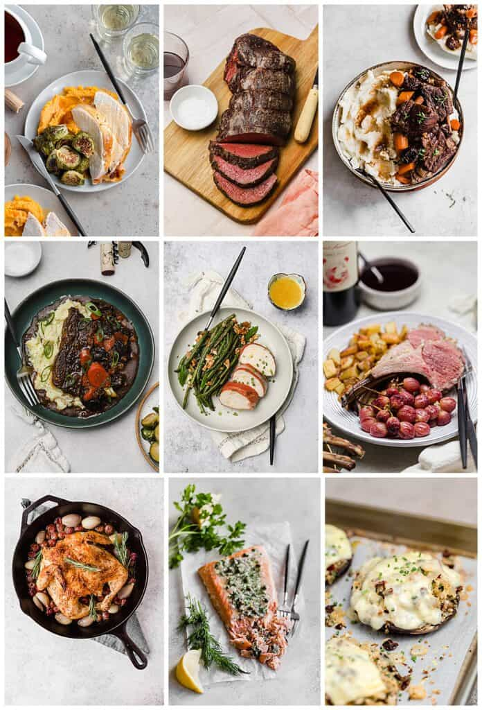 Thanksgiving recipe round-up entrées