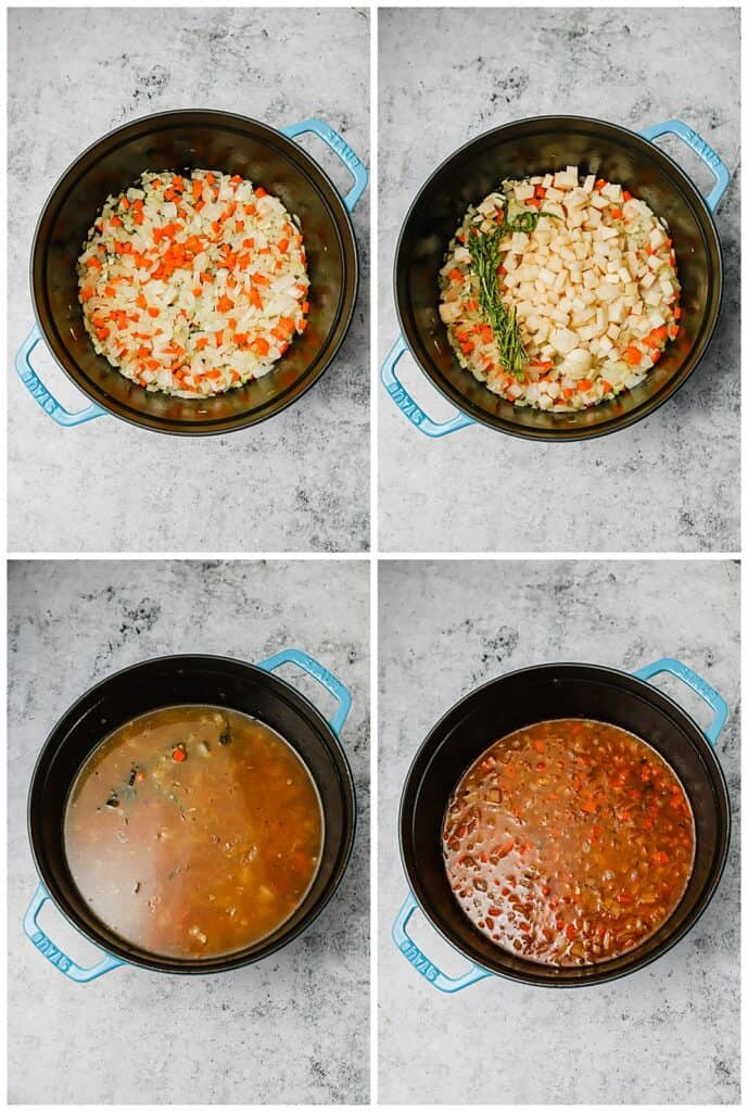 How to make seafood bisque step-by-step