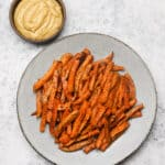 Sweet Potato Fries with Chipotle Aioli