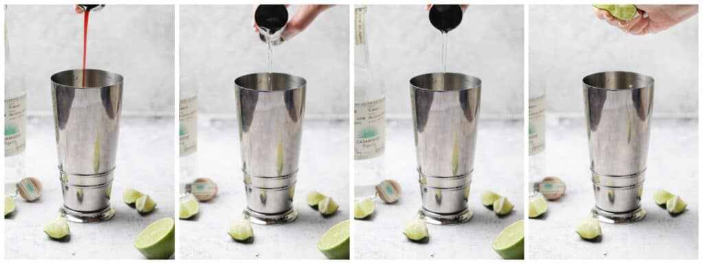 How to make a tequila cocktail