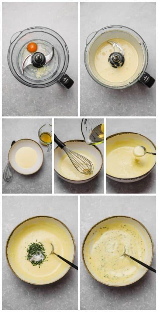 How to make tarragon aioli