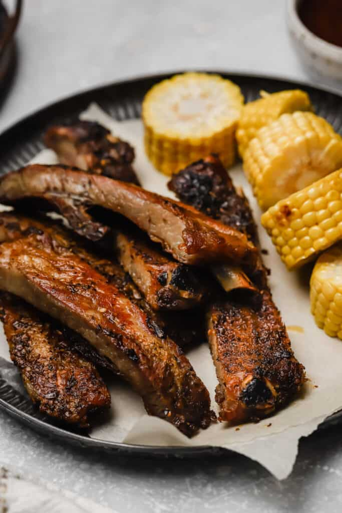 St louis style ribs recipe with corn