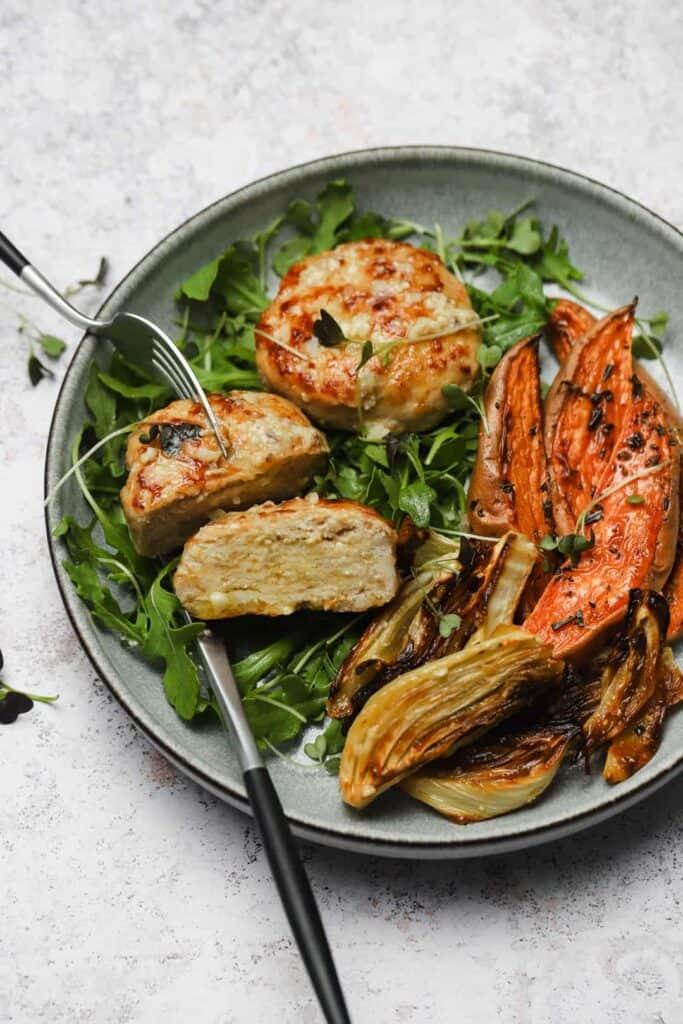 Homemade pan seared chicken patty recipe