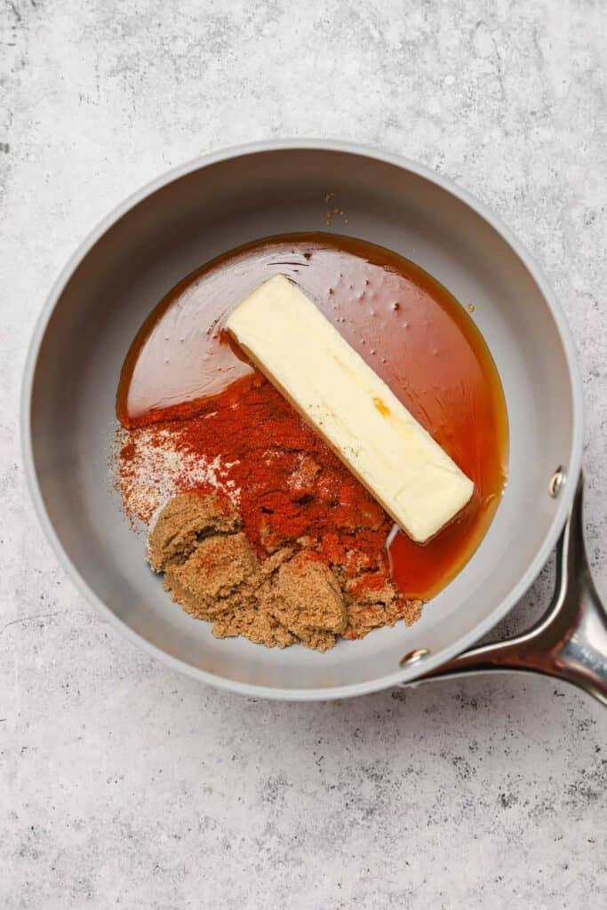 Hattie B's inspired hot chicken sauce