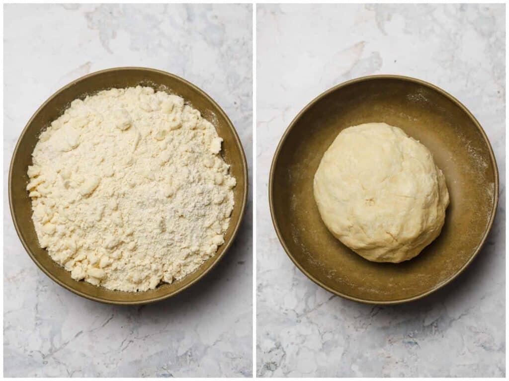 Homemade tart dough