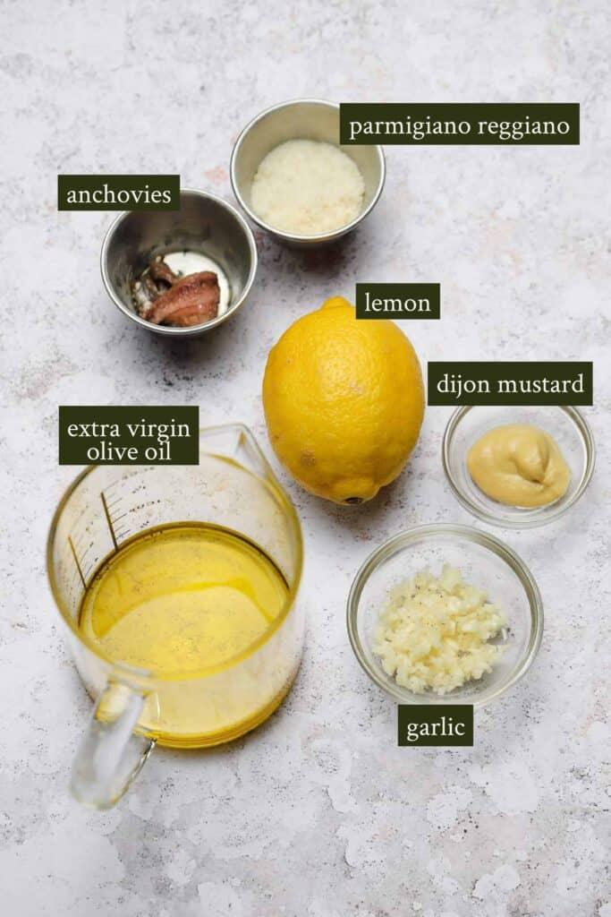 Ingredients for chicken patties