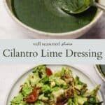 Cilantro lime pinterest graphic