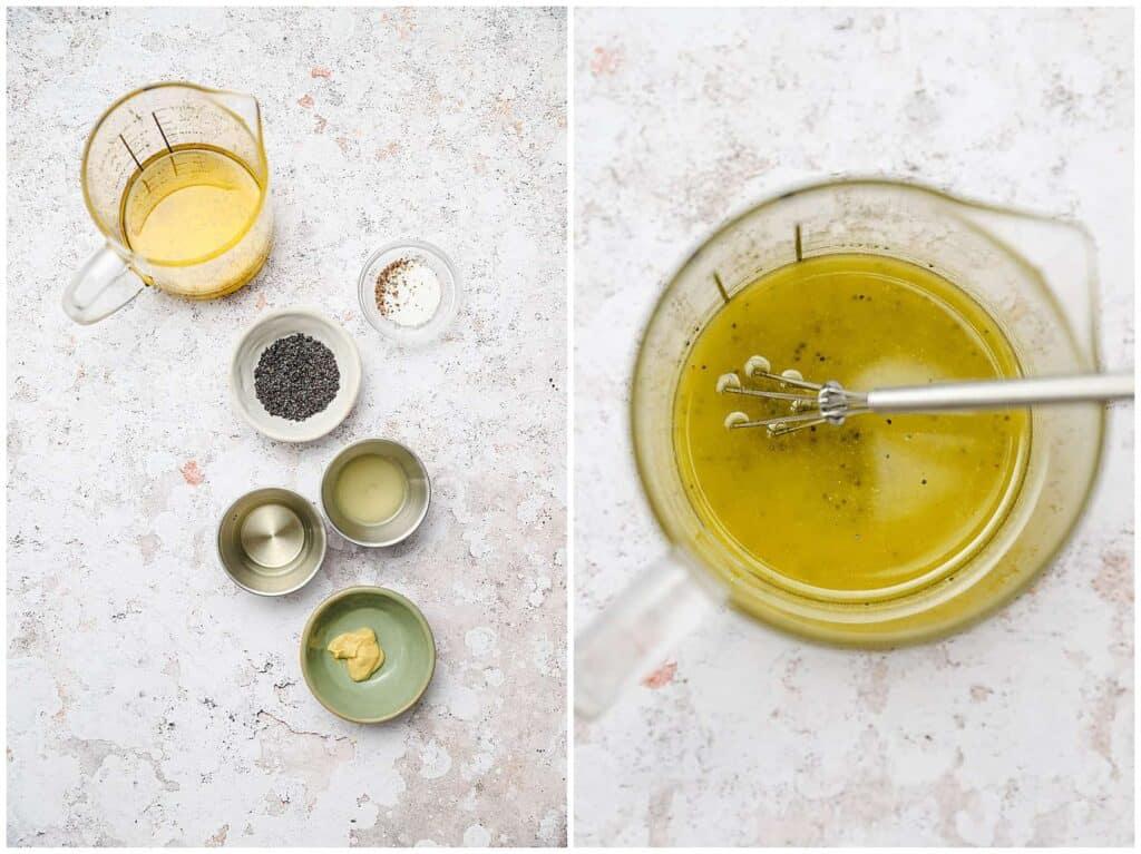 How to make lemon poppy seed salad dressing