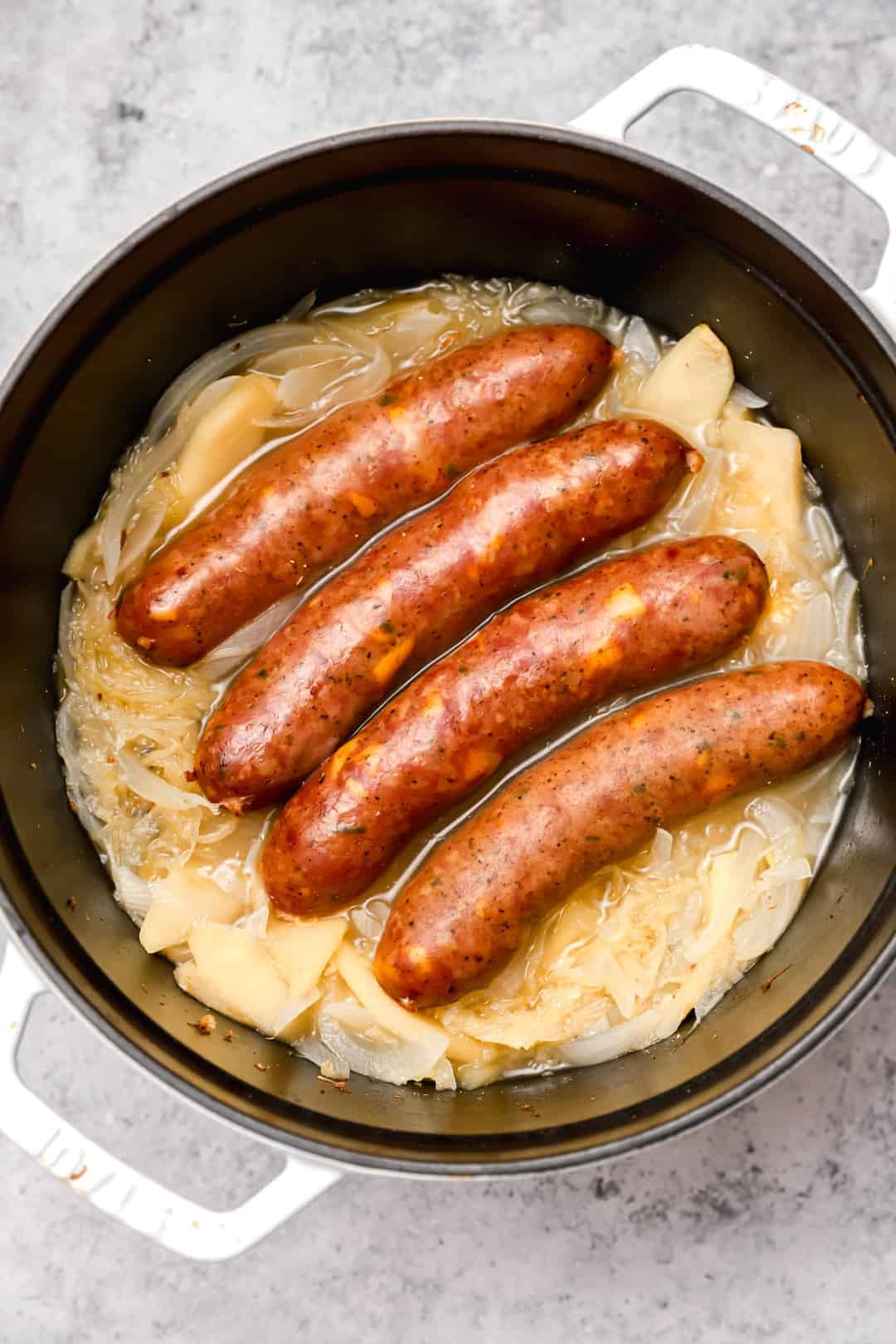 Cooking beer brats in the oven