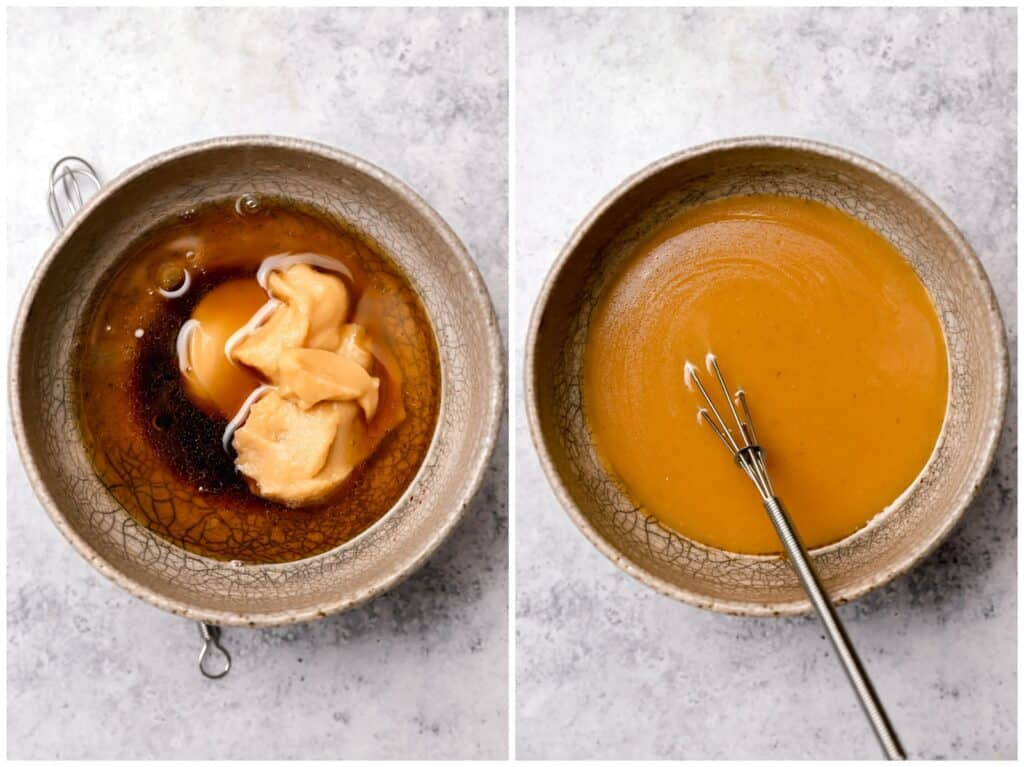 How to make a white miso paste marinade